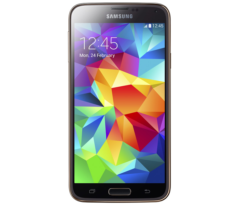 Телефон SAMSUNG GALAXY S5 Duos 16Gb золотой (SM-G900FD)