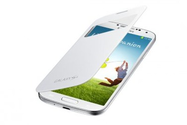 SAMSUNG чехол для Galaxy S4 S View Cover белый (EF-CI950B)