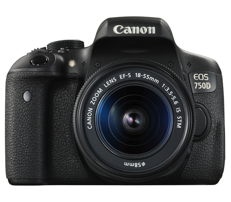 Зеркальный фотоаппарат Canon EOS 750D Kit + 18-55 IS STM