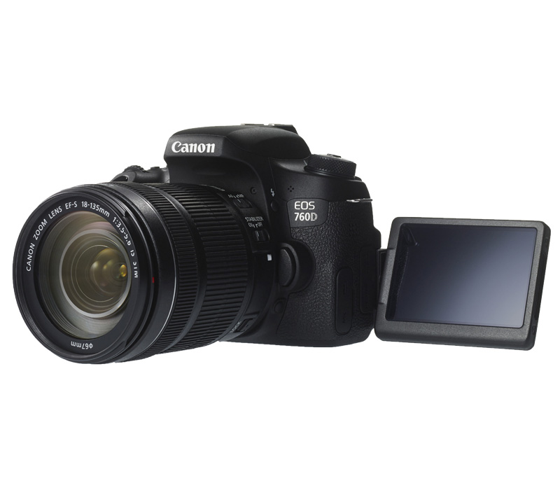 Зеркальный фотоаппарат CANON EOS 760D Kit + 18-135 IS STM