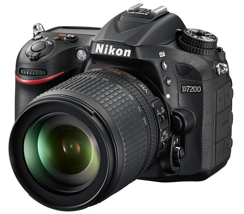 Зеркальный фотоаппарат NIKON D7200 kit + AF-S 18-105 VR фото