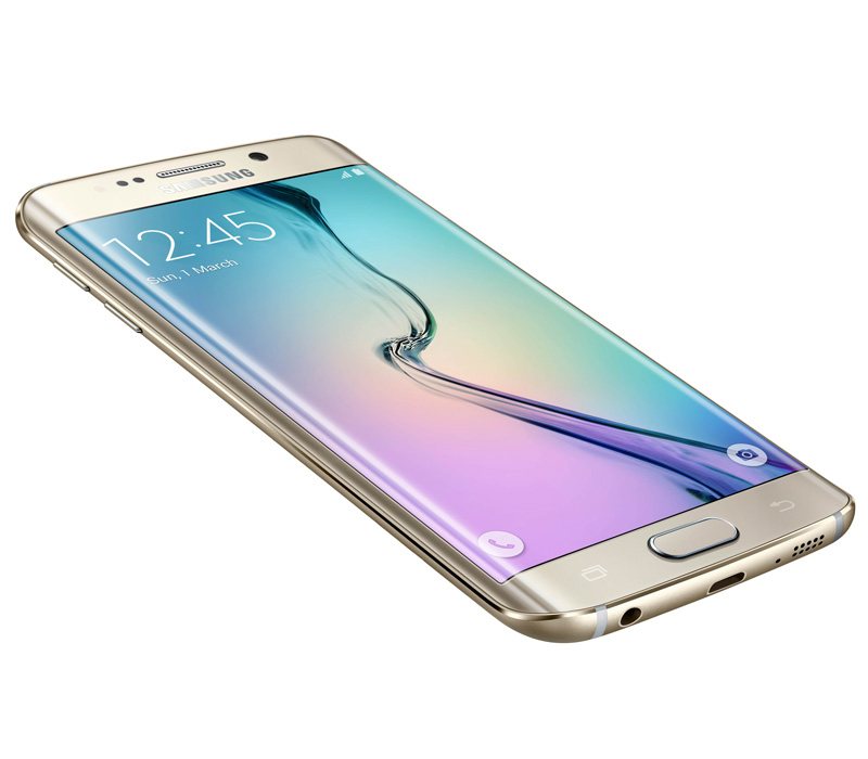 Телефон SAMSUNG Galaxy S6 Edge 64Gb золотая платина (SM-G925F)