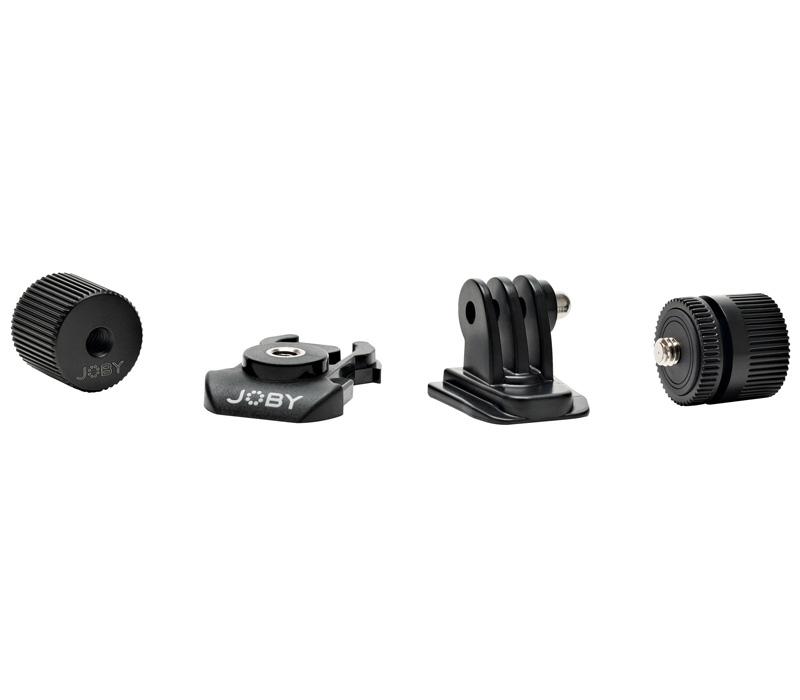 Набор адаптеров JOBY Action Adapter Kit для крепления экшн-камер и аксессуаров фото