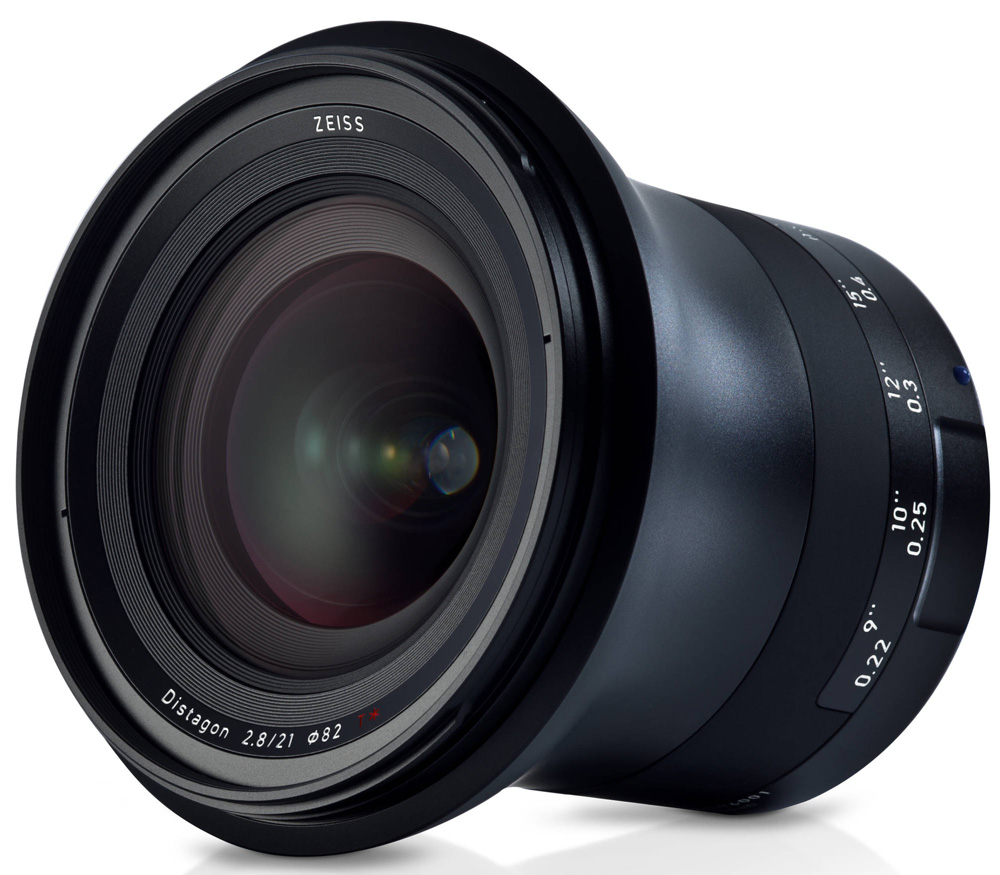 Объектив Zeiss Milvus 2.8/21 ZE для Canon EF (21mm f/2.8) фото