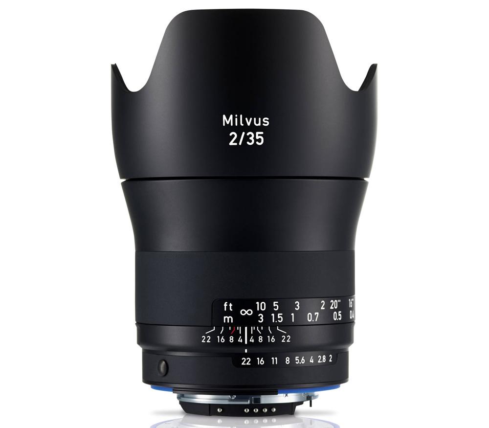 Объектив Zeiss Milvus 2/35 ZF.2 для Nikon F (35mm f/2) фото