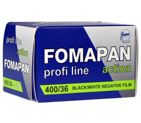 Фотопленка FOMA PAN 400 Action 135, 36 кадров фото