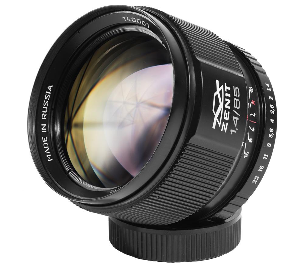 Объектив Зенит Зенитар-C 1.4/85 для Canon EF фото
