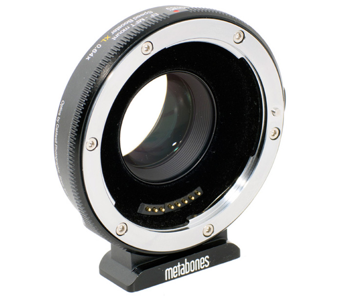 Адаптер Metabones Speed Booster XL 0.64x, Canon EF на Micro 4/3 фото
