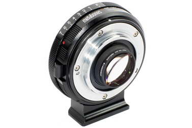Адаптер Metabones Speed Booster XL 0.64x, Nikon G на Micro 4/3