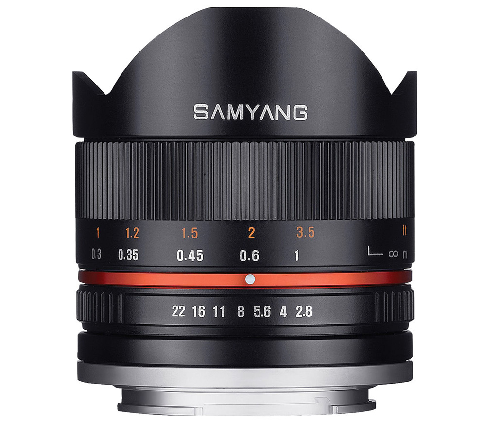 Объектив Samyang 8mm f/2.8 UMC Fisheye II Sony E black