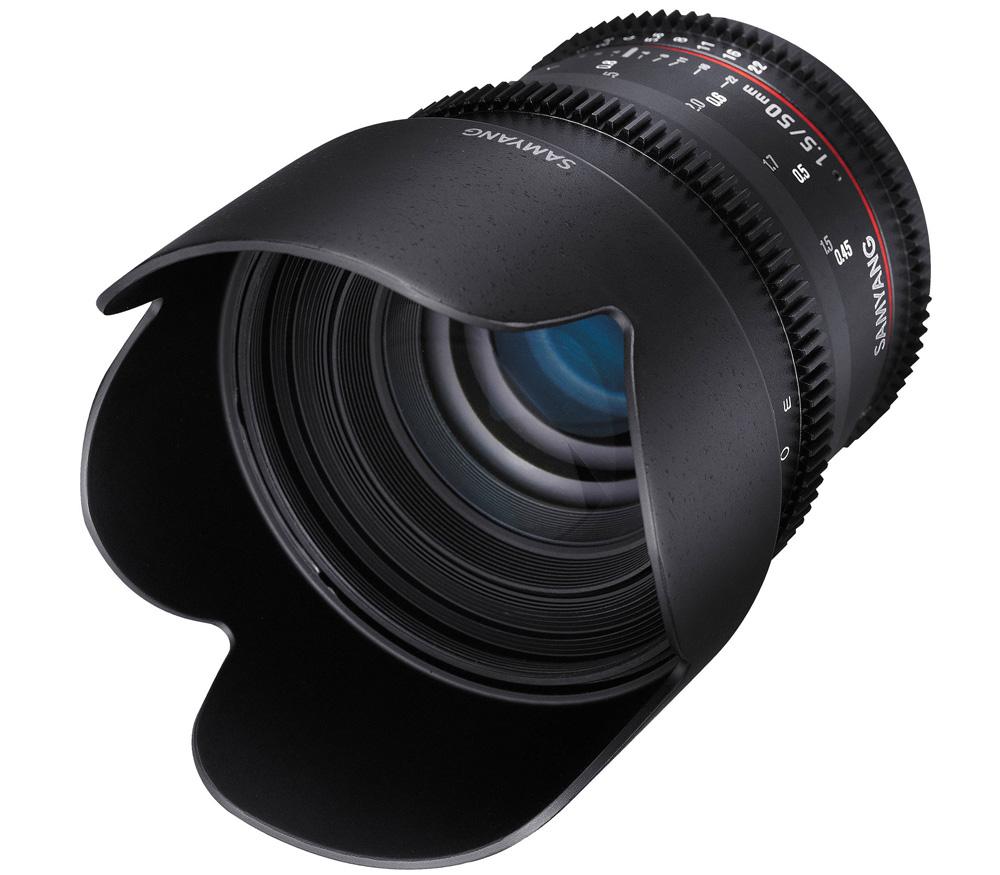 Объектив Samyang 50mm T1.5 AS UMC VDSLR Fujifilm X фото