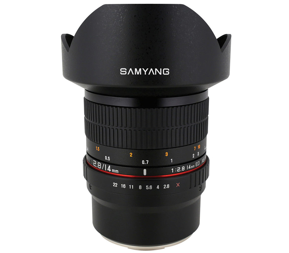 Объектив Samyang 14mm f/2.8 IF ED UMC Aspherical Fujifilm X