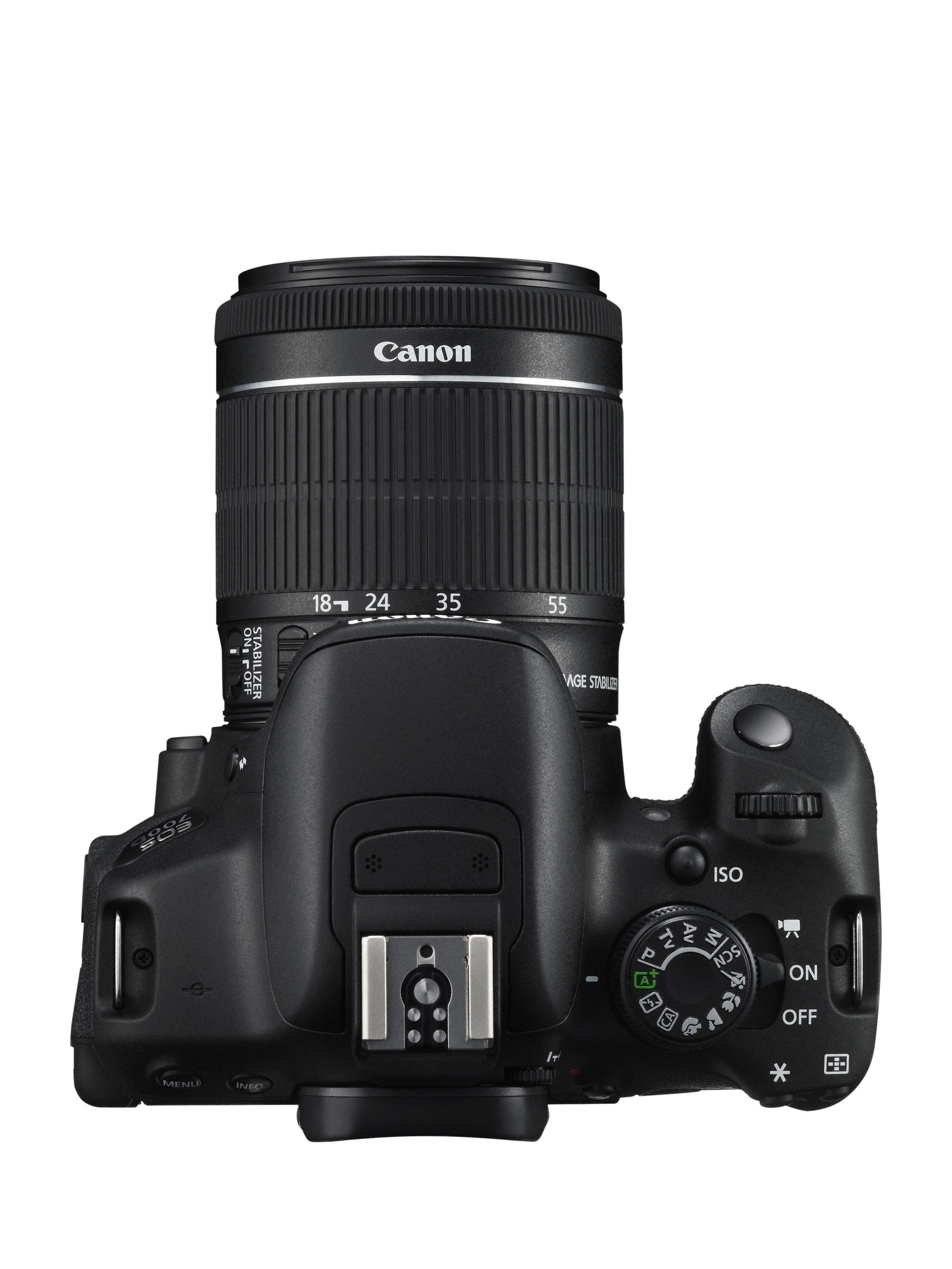 Зеркальный фотоаппарат CANON EOS 700D + 18-55 IS STM Kit