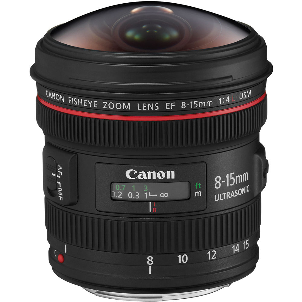 Объектив Canon EF 8-15mm f/4L Fisheye USM