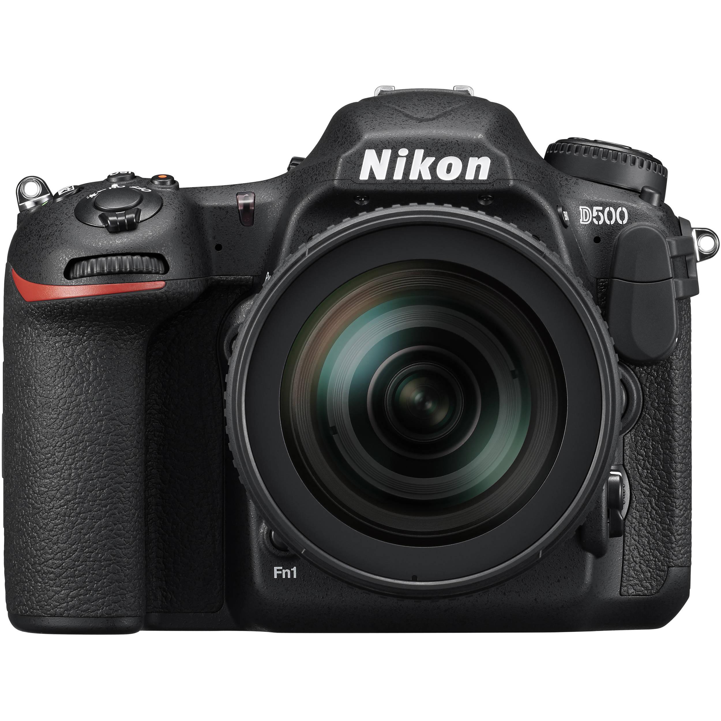 Зеркальный фотоаппарат NIKON D500 kit + AF-S 16-80 DX фото