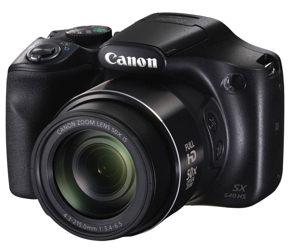 Компактный фотоаппарат CANON PowerShot SX540 HS фото