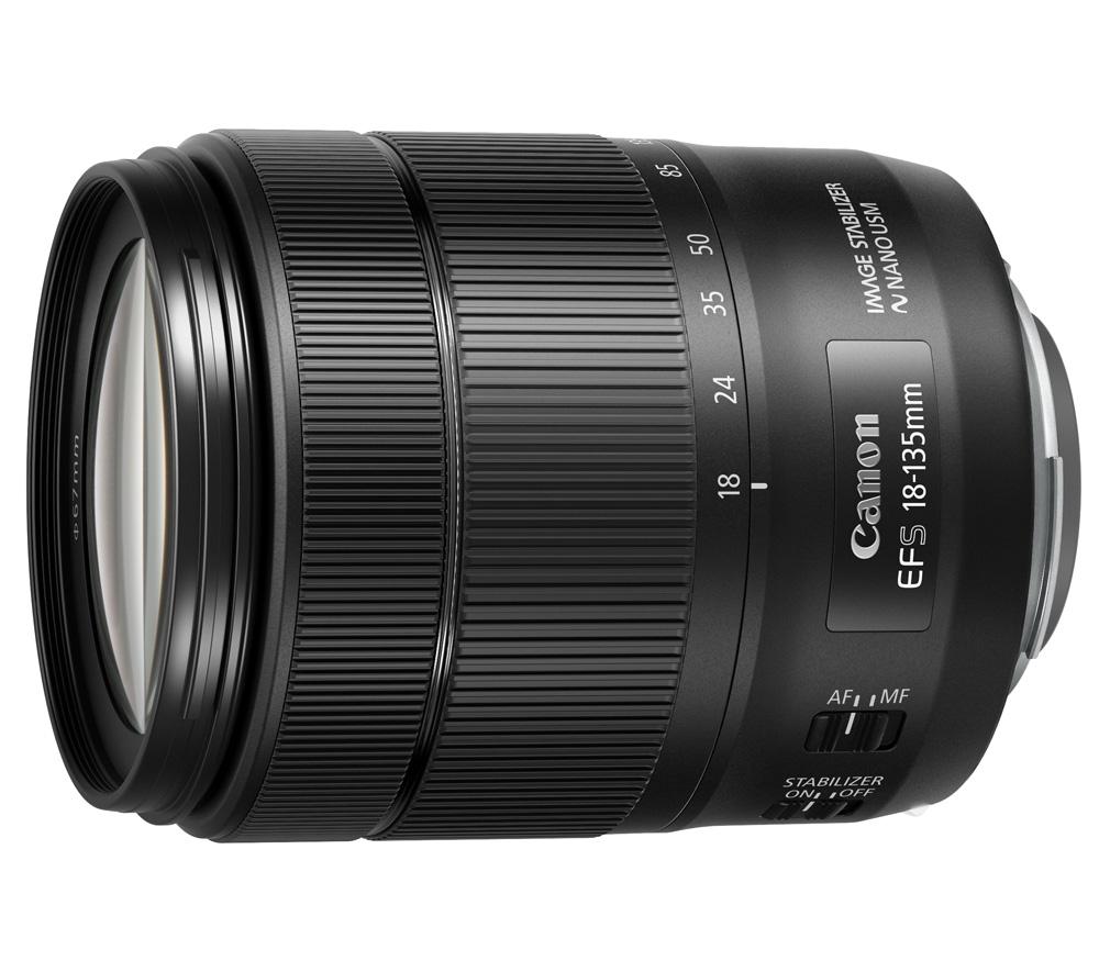 Объектив Canon EF-S 18-135mm f/3.5-5.6 IS USM фото