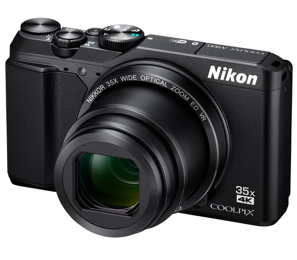 Компактный фотоаппарат NIKON Coolpix A900 черный фото