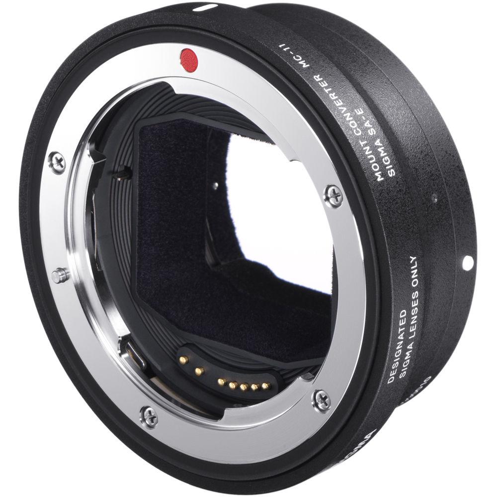 Адаптер Sigma MC-11 Canon EF на Sony E фото