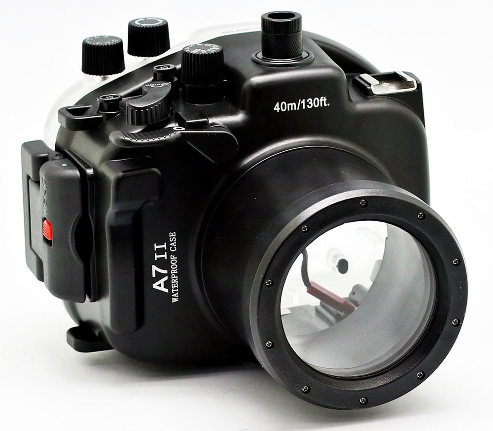 Подводный бокс Meikon для Sony Alpha A7II /7RII/ 7SII 28-70mm kit, 40 м фото