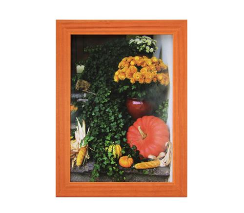 Фоторамка Сосна 15х20 см, оранжевая (5N68) фото