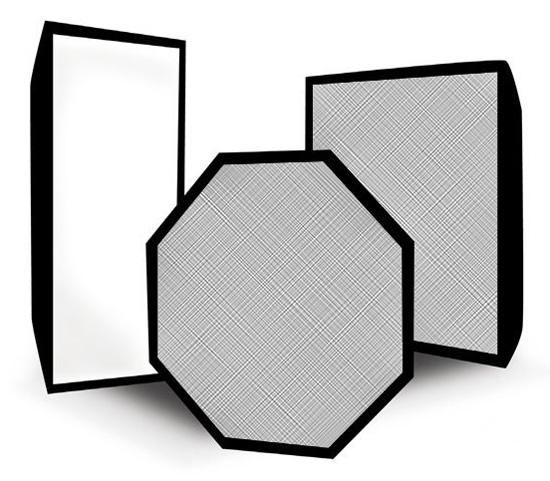 Софтбокс Rekam 30х90 см, жаропрочный, серебристый, без адаптера фото