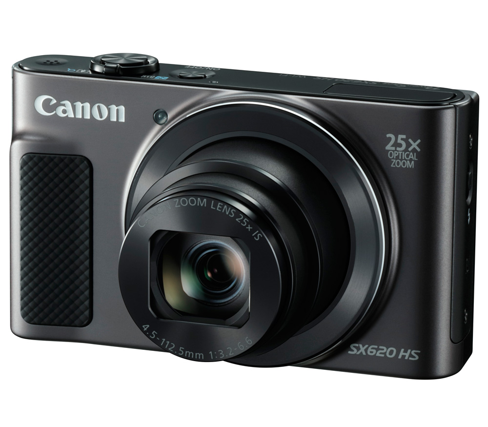 Компактный фотоаппарат CANON PowerShot SX620 HS, черный фото