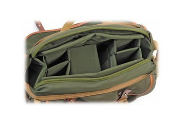 Сумка Billingham 445 Shoulder Bag (Sage with Tan Leather Trim)