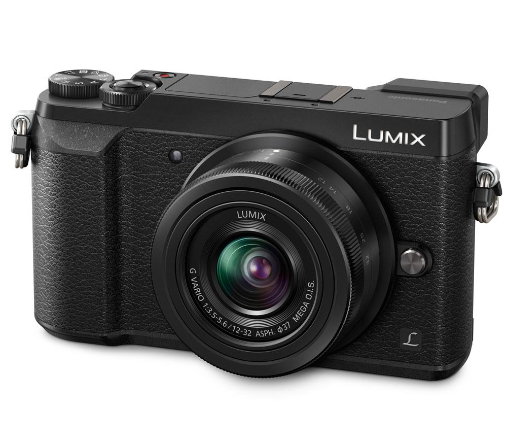 Фотоаппарат со сменной оптикой PANASONIC Lumix DMC-GX80 Kit 12-32mm, черный фото