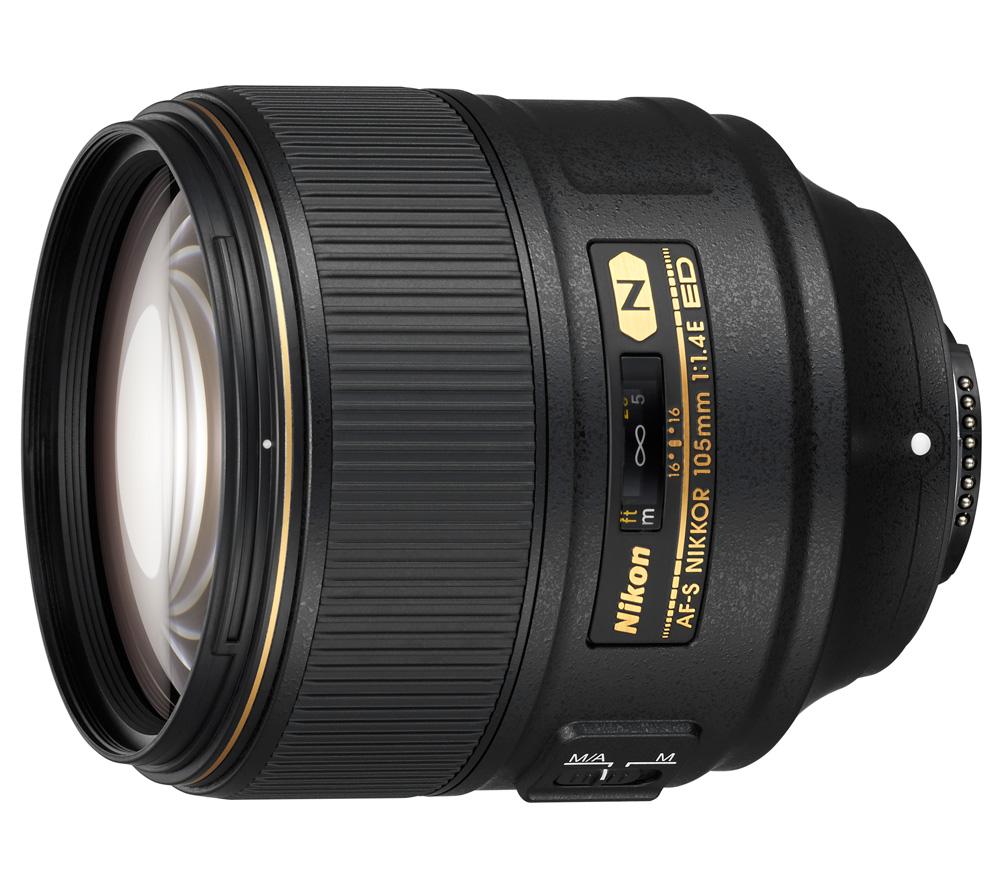 Объектив Nikon AF-S Nikkor 105mm f/1.4E ED фото