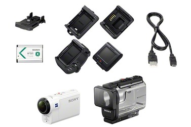 Экшн-камера SONY HDR-AS300R с пультом ДУ RM-LVR3