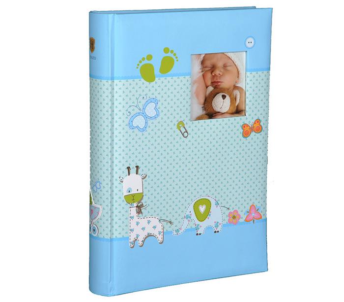 Фотоальбом Henzo 10х15см 300 фото Baby Moments, детский, голубой фото