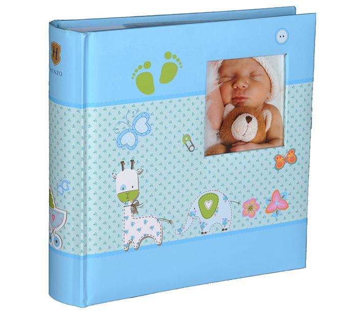Фотоальбом Henzo 10х15см 200 фото Baby Moments, детский, голубой фото