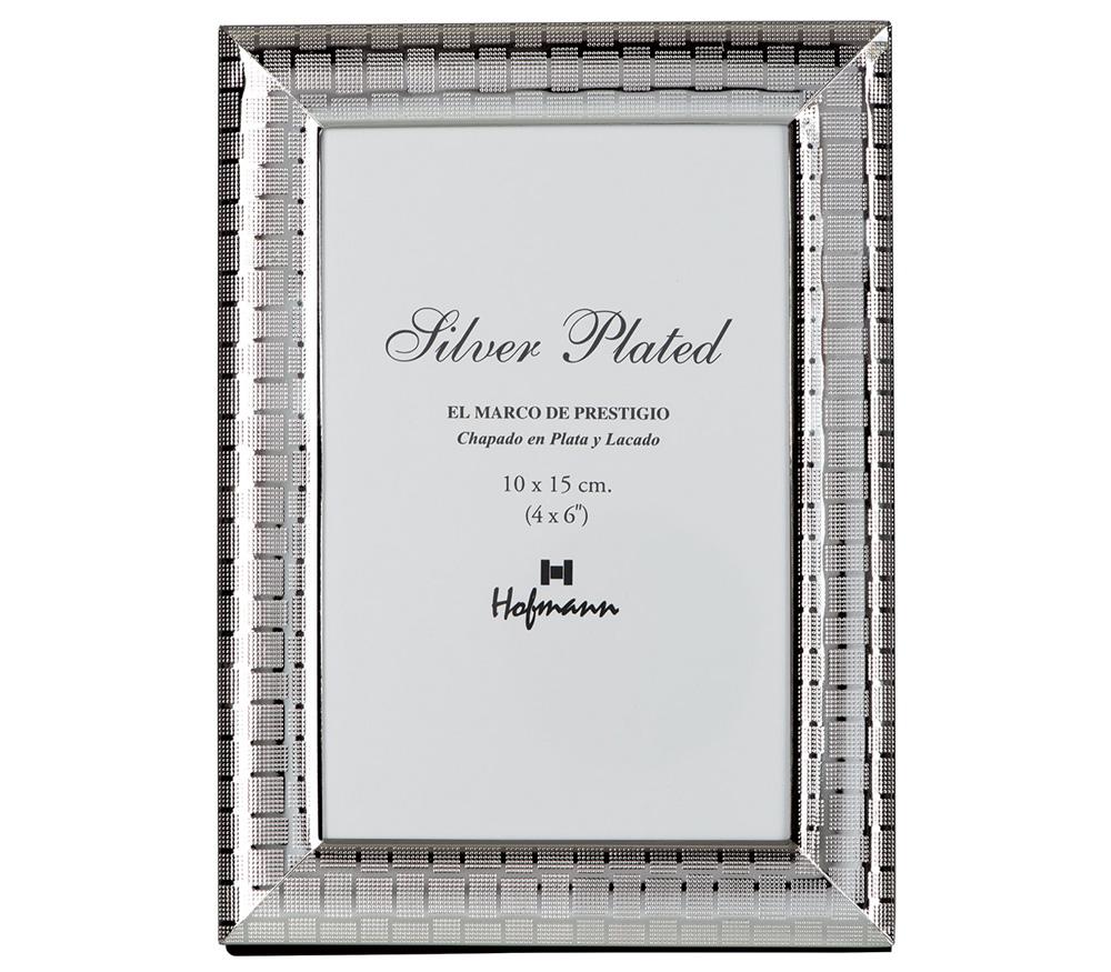 Фоторамка HOFMANN 15x20 см, металлическая. арт. 325 фото