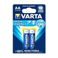 Батарейки VARTA AA High Energy (2 шт.)