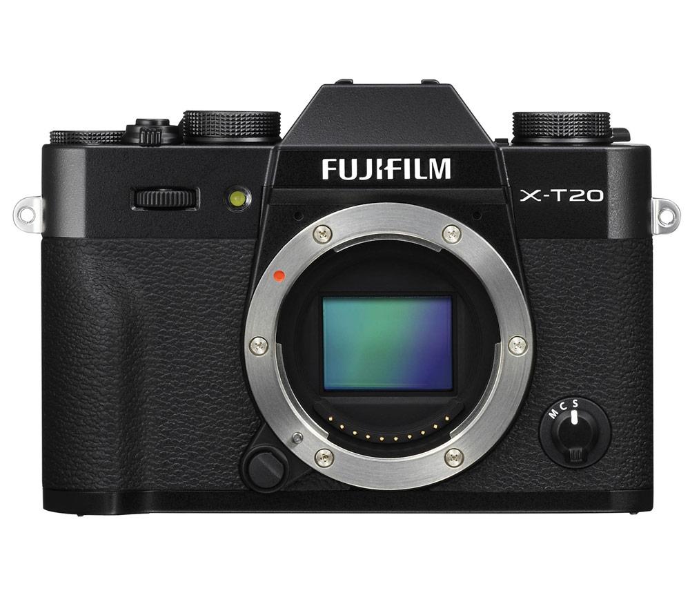 Фотоаппарат со сменной оптикой FUJIFILM X-T20 Body, черный фото