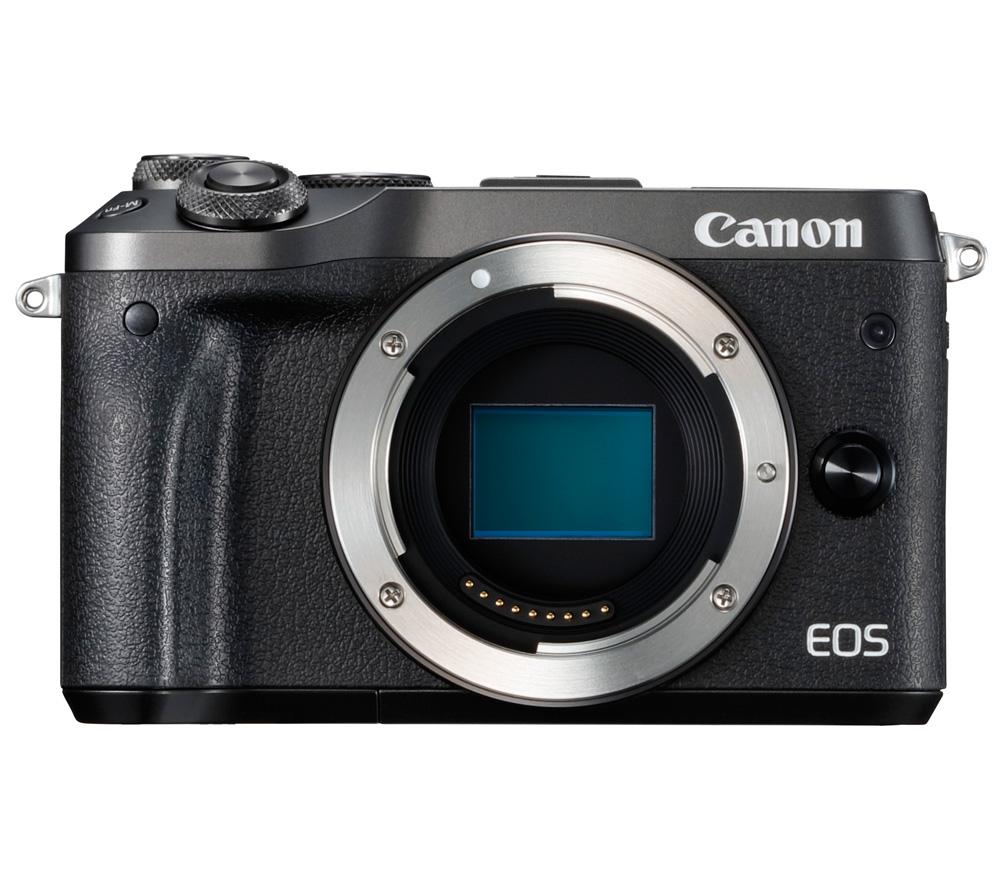 Фотоаппарат со сменной оптикой CANON EOS M6 Body, черный фото