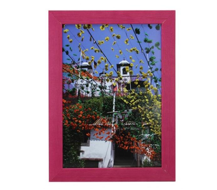 Фоторамка Сосна 13х18 см, малиновая фото