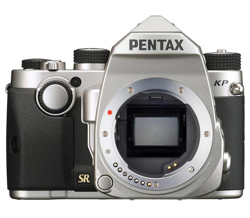 Зеркальный фотоаппарат KP Body, серебристый Pentax