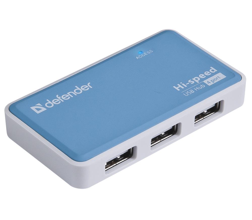 USB концентратор (хаб) Defender Quadro Power