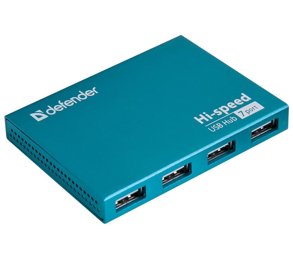 USB концентратор (хаб) Defender Septima Slim