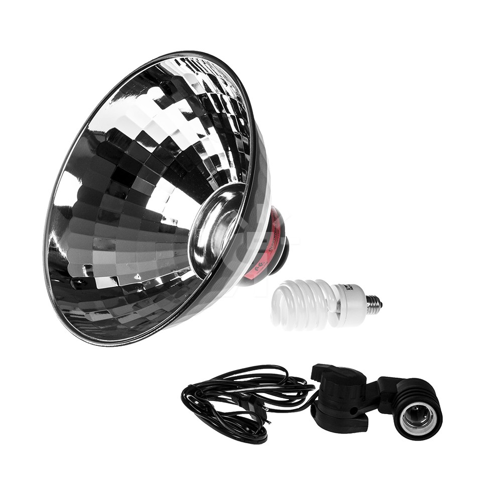 Осветитель Falcon Eyes LHPAT-40-1, флуоресцентный, 40 Вт, с отражателем 40 см фото