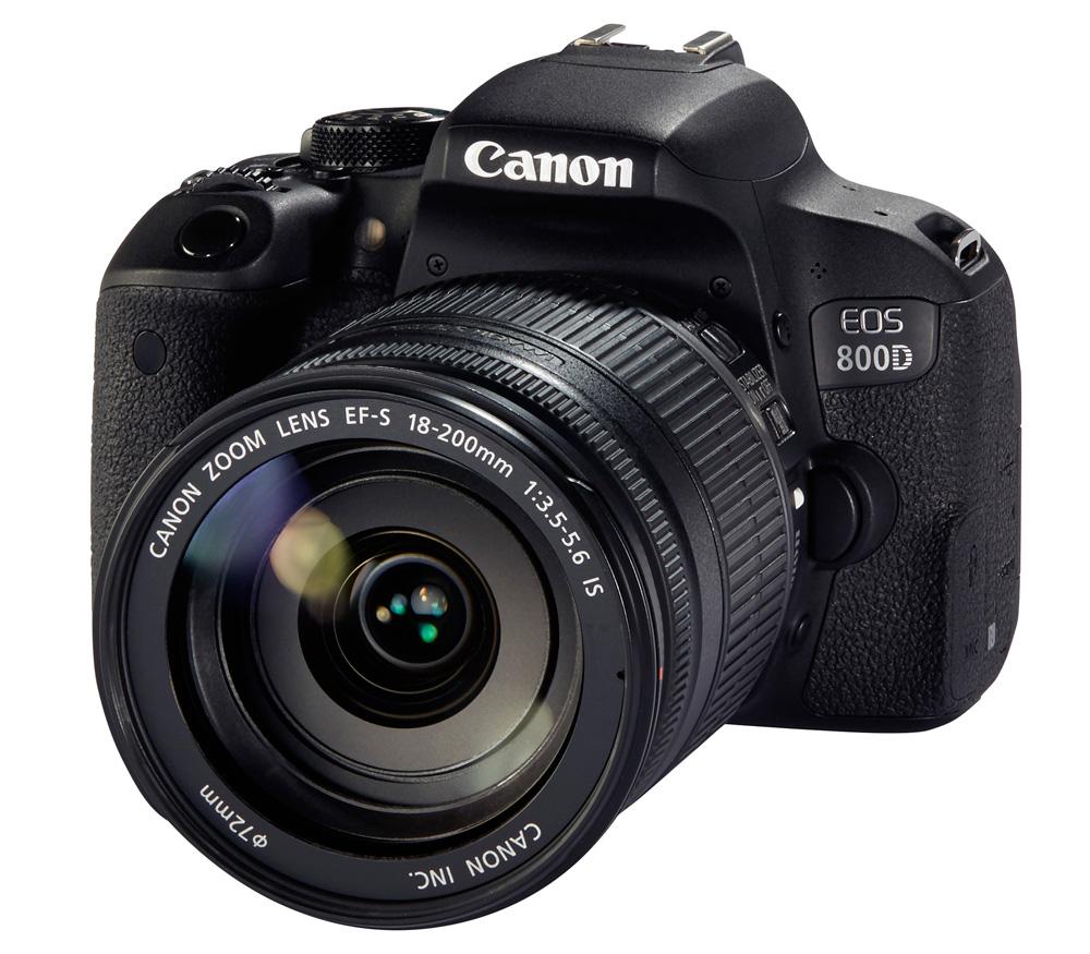 Зеркальный фотоаппарат CANON EOS 800D Kit с 18-200 IS