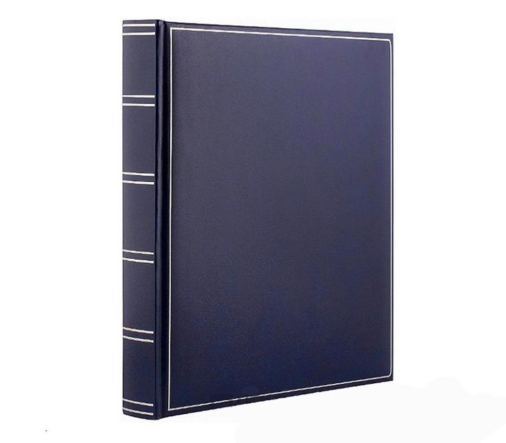 Фотоальбом Goldbuch 30х31 см, 60 страниц 26х30 см, кожзам, синий фото