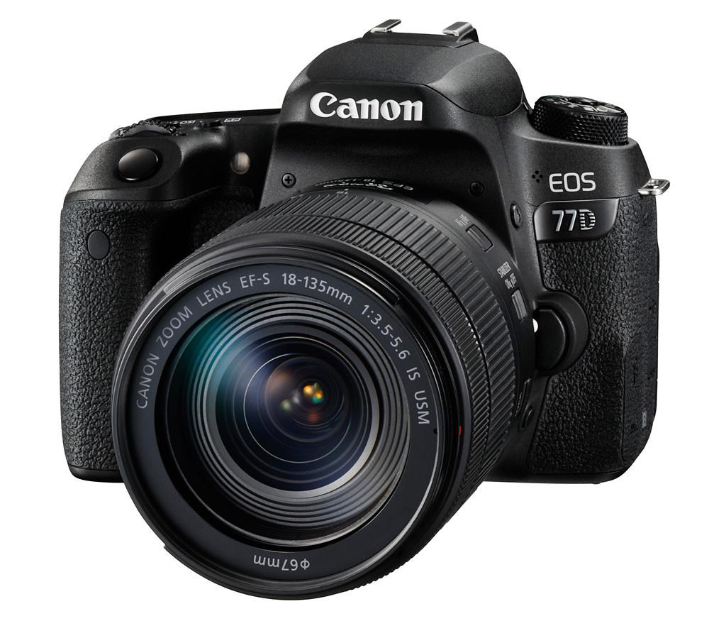 Зеркальный фотоаппарат Canon EOS 77D Kit с
