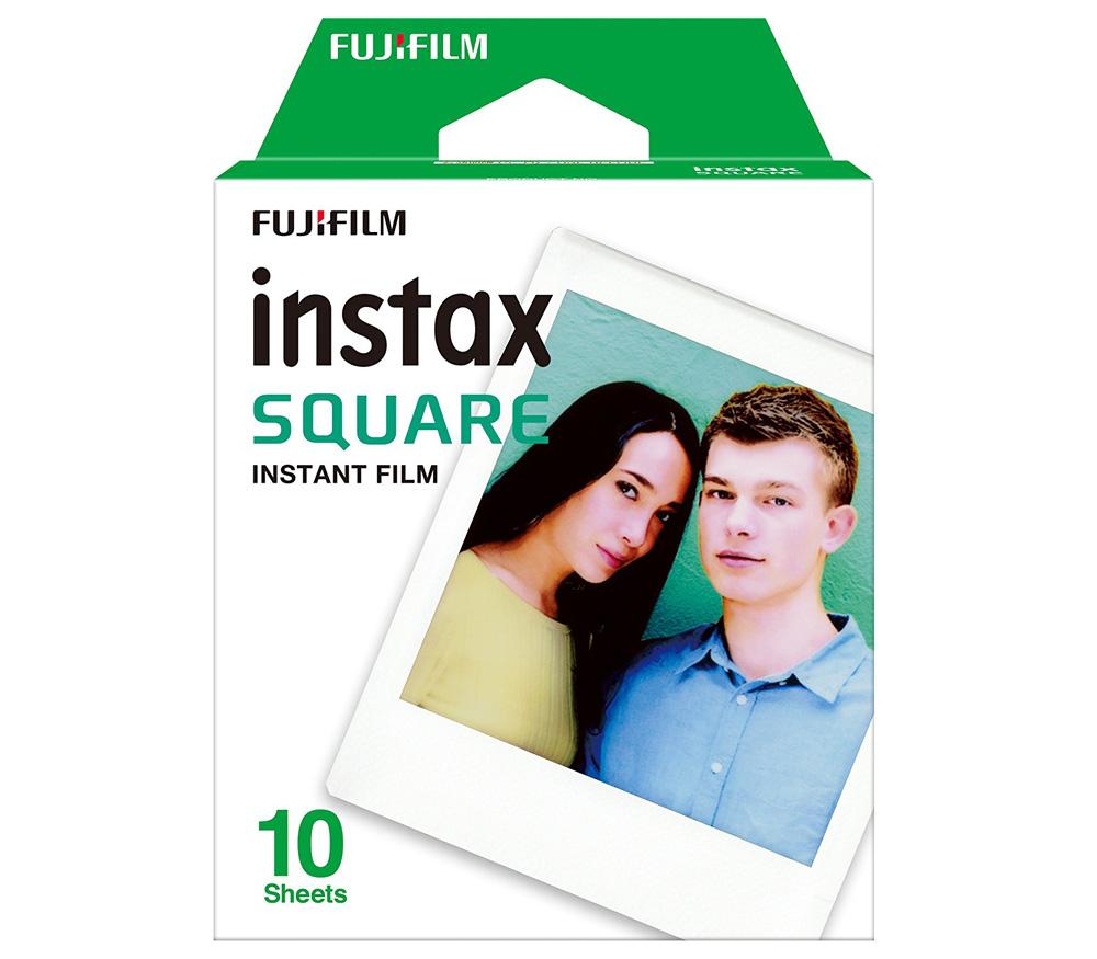Картридж Fujifilm Instax SQUARE, 10 снимков фото