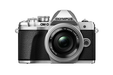 Системный фотоаппарат OLYMPUS OM-D E-M10 Mark III kit c 14-42 EZ, серебристый