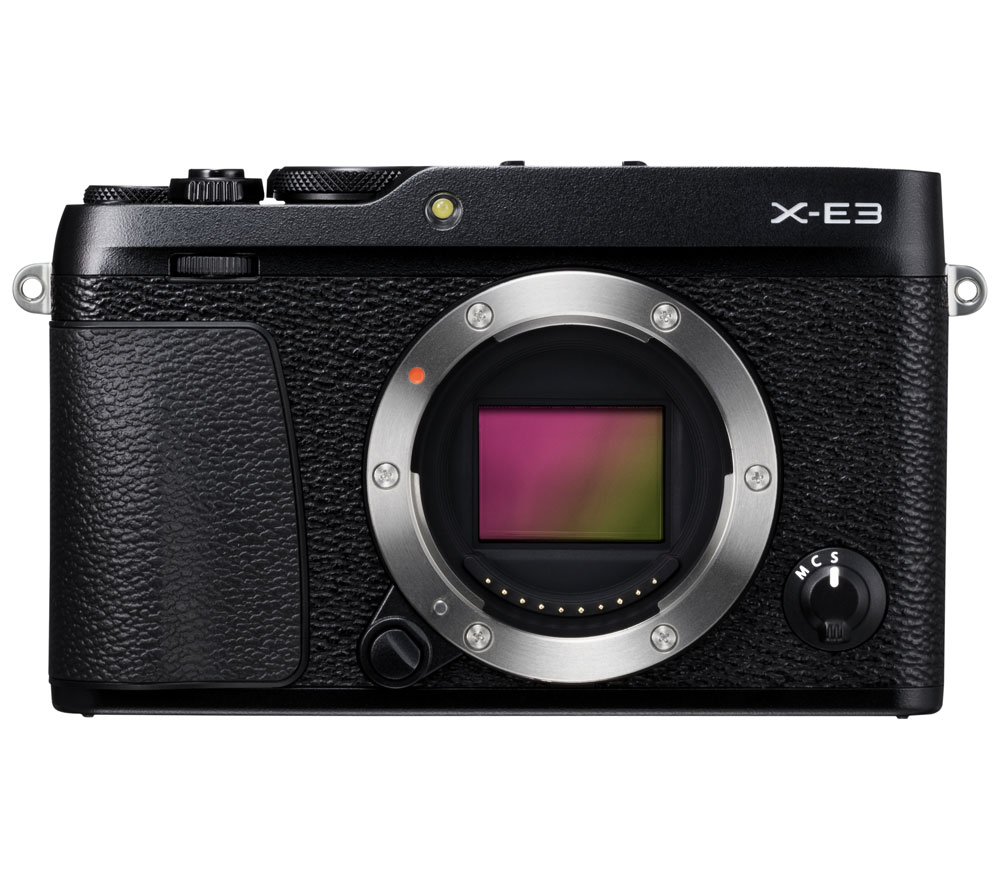 Фотоаппарат со сменной оптикой FUJIFILM X-E3 Body, черный