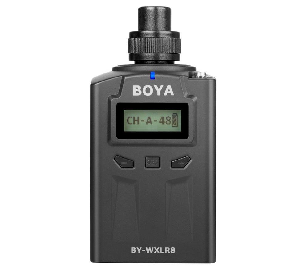 Беспроводной радиопередатчик Boya BY-WXLR8, XLR / 3.5 мм, УКВ фото