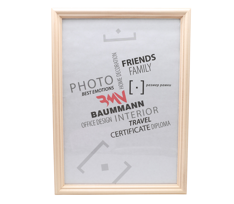 Фоторамка Baummann 50x60 см, сосна фото